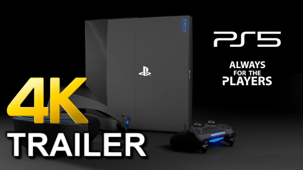 Playstation 5 Ps5 4k Official Trailer Ps5 Graphics Coming Soon I Official Trailer Playstation 5 Future Games