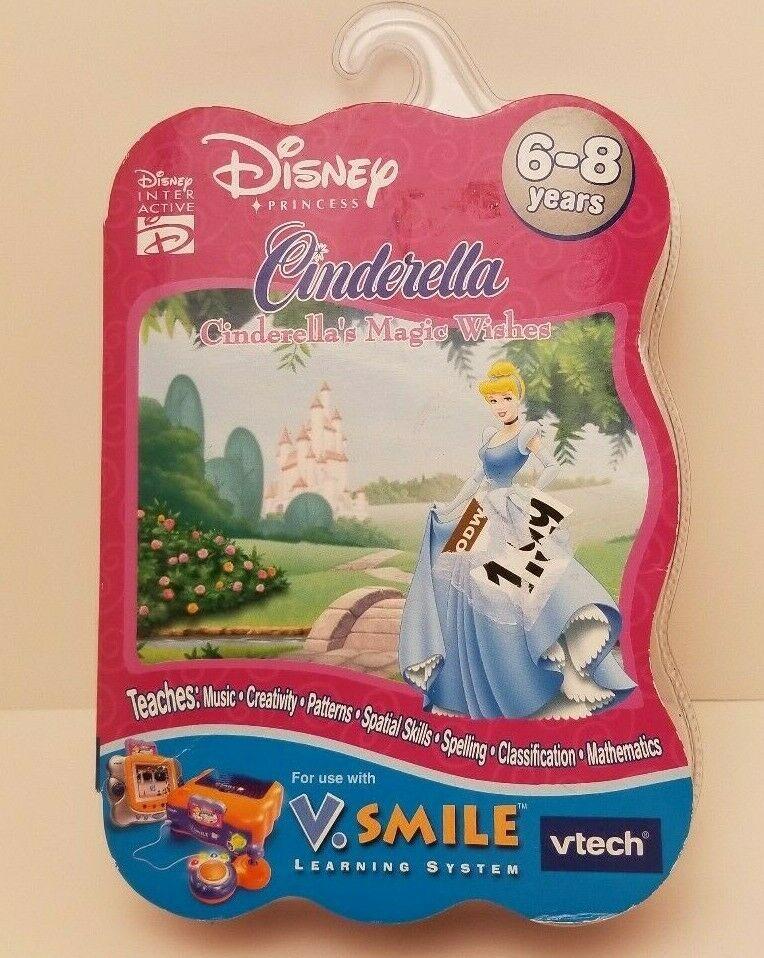 V Tech - V Smile - Cinderella: Cinderella's Magic Wishes
