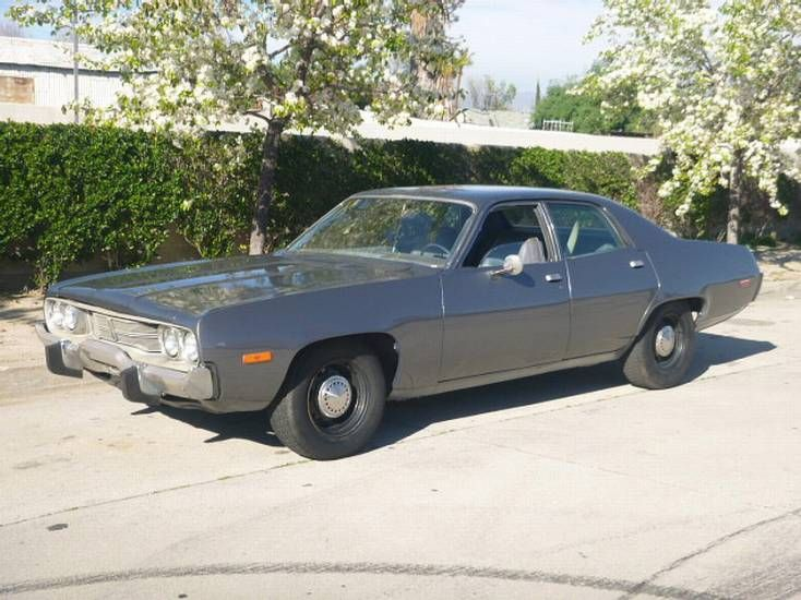 Los Angeles 1974 Plymouth Satellite Detective Car Plymouth Satellite Commercial Vehicle Police Cars