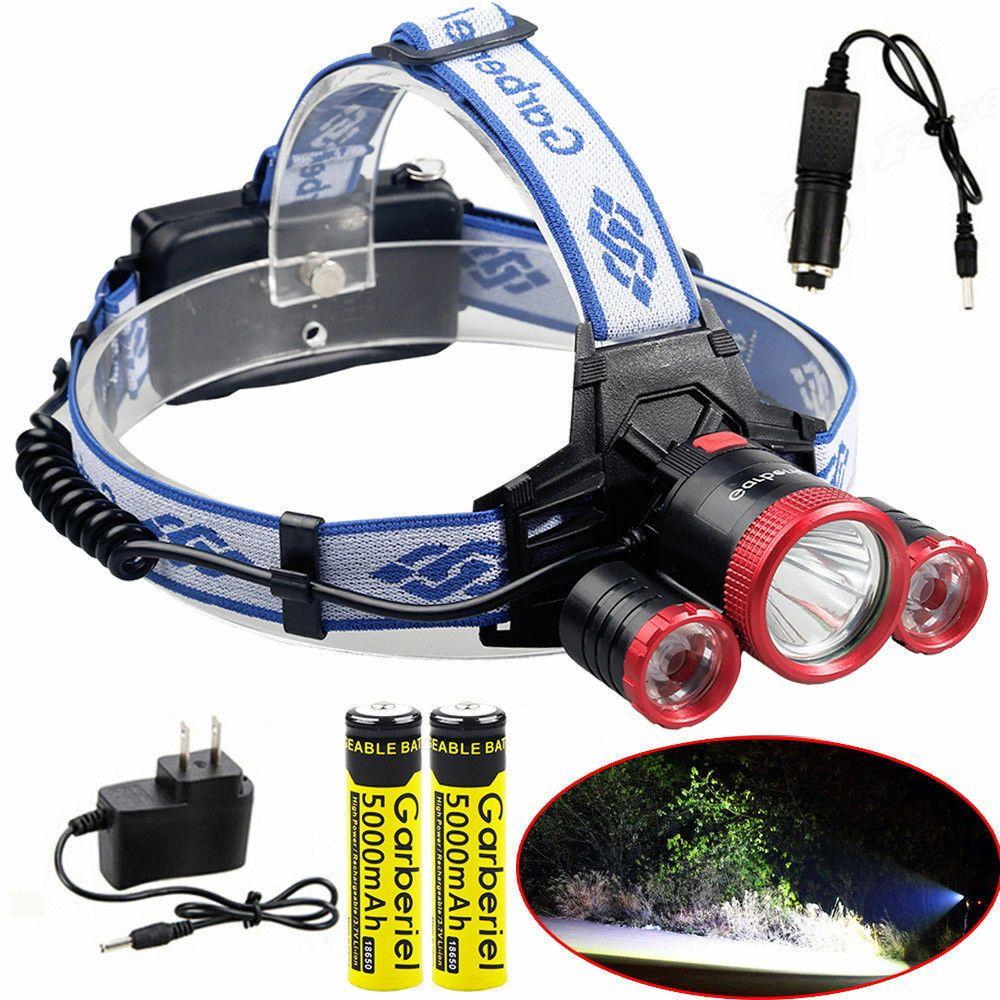 150000LM Headlamp Headlight Flashlight Head Light Lamp 18650 battery Torch