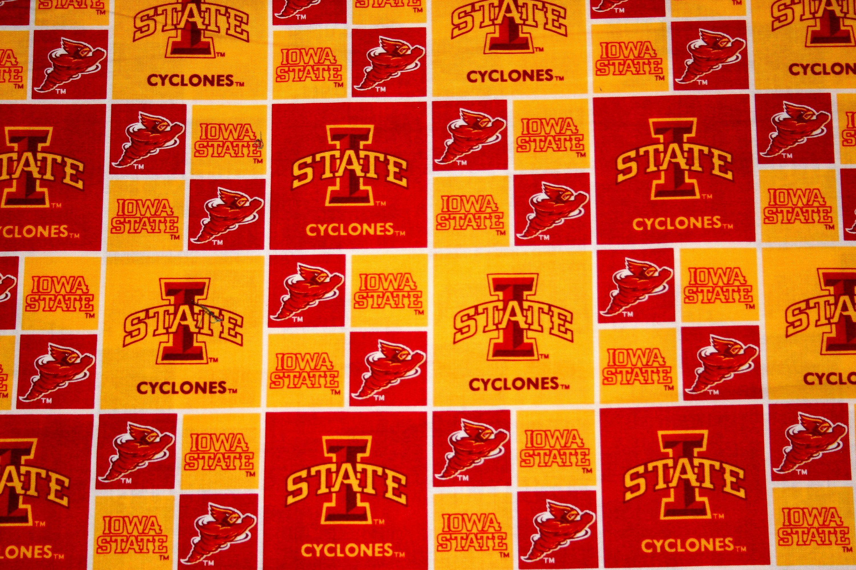 Iowa State Cyclones Fabric Ncaa College Fabrics Iowa State
