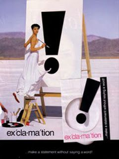 Exclamation By Coty Perfume Ad Perfumes Pinterest
