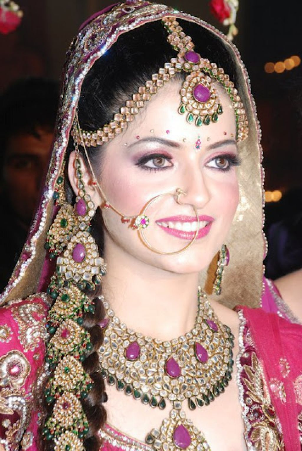 Indian Wedding hairstyle Inspiration Simple Hairstyle
