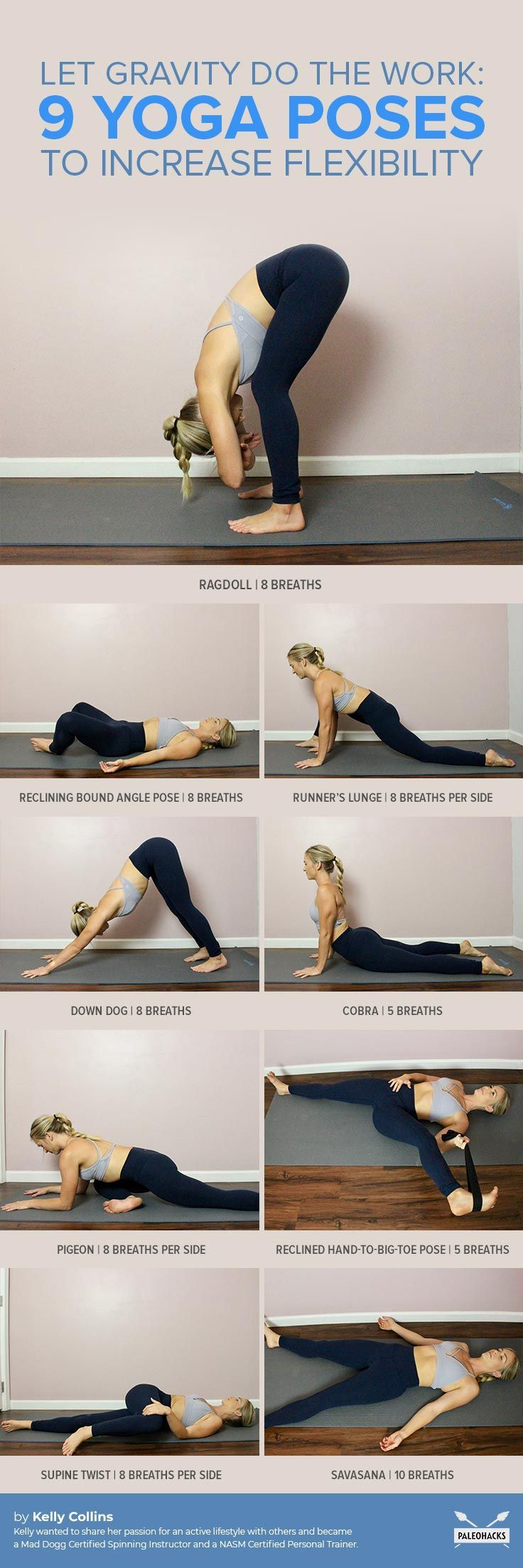 Let Gravity Release Tight Muscles with These 9 Relaxing Poses