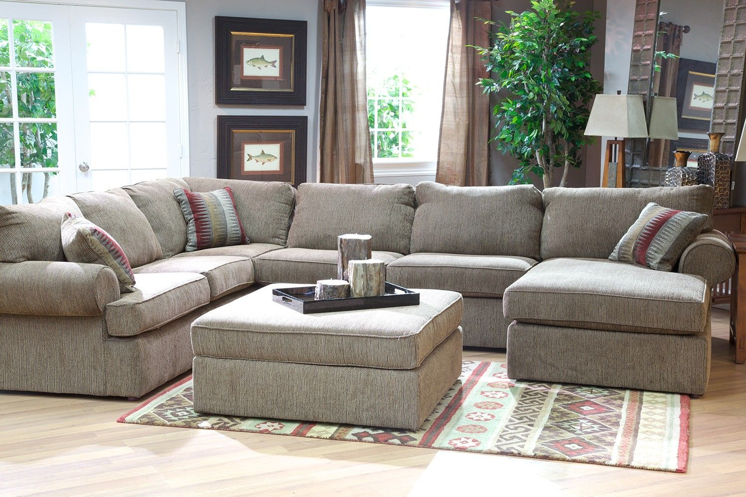Delicieux Napa Treasure Sectional Living Room   Living Room | Mor Furniture For Less
