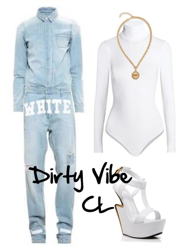 """CL - Dirty Vibe"" by sarang-sarah ❤ liked on Polyvore featuring Giuseppe Zanotti, Wolford and Moschino"