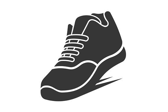 Running Shoe Icon Icon Shoes Pictogram Icon