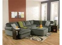 jessa place couches - pewter