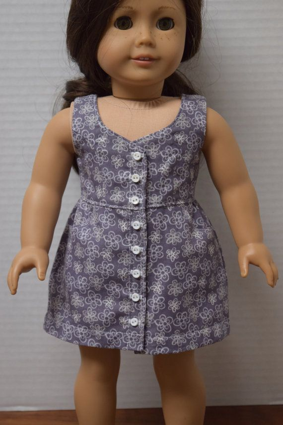Sundress designed to fit 18 doll similar to by grammasattic6