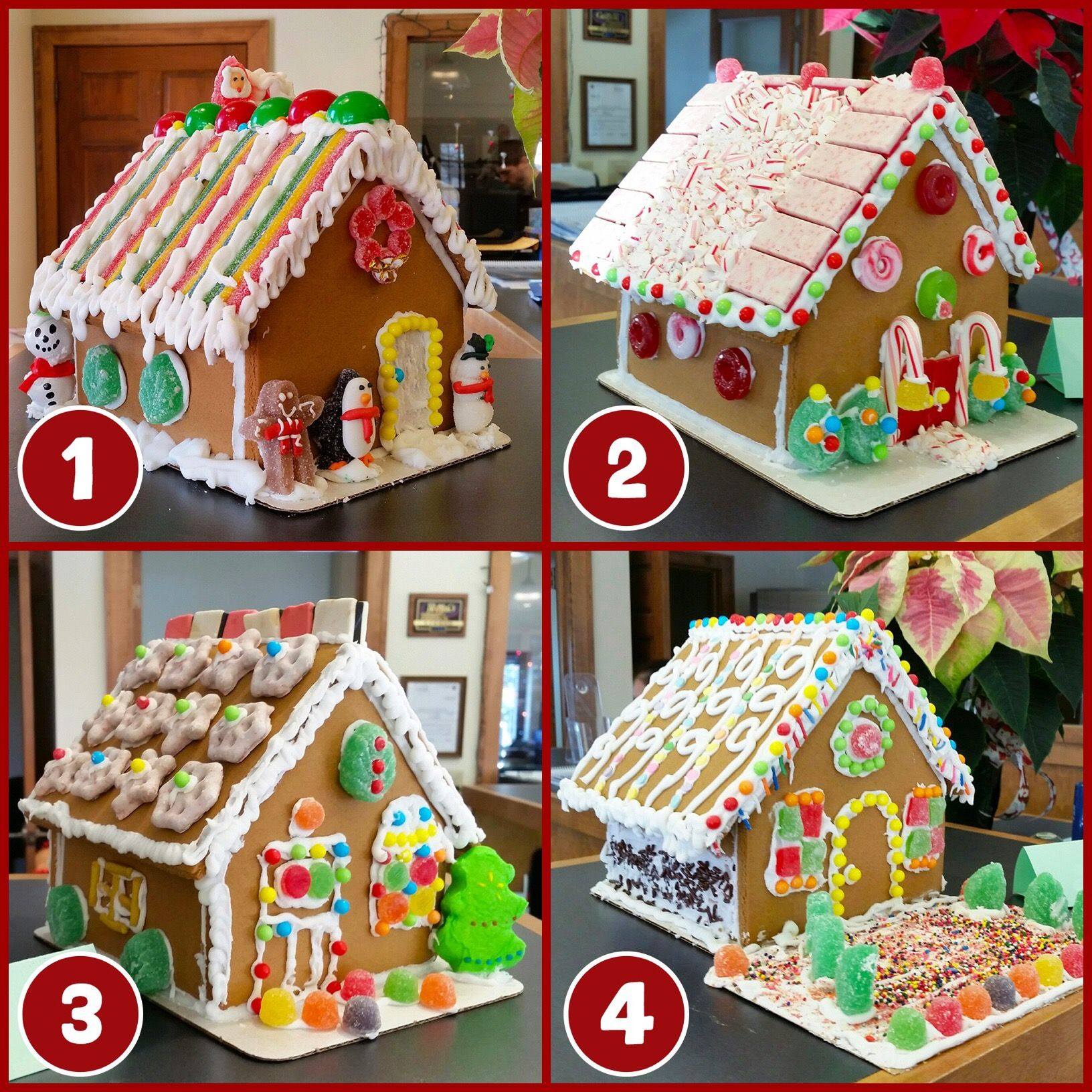 Our talented staff at our grafton branch made gingerbread houses branch photos pinterest