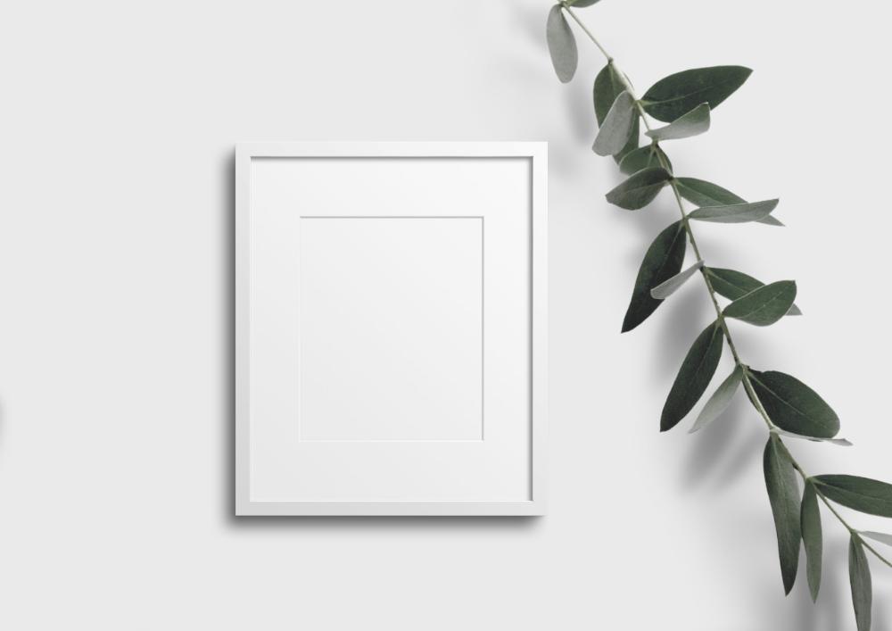 Frame Mockup 474 White Portrait Frame Mockup Styled Thin Frame Mock Up A4 Wall Art Display Psd Smart Object Filtergrade Portrait Frame Frame Mockups Free Photo Frames