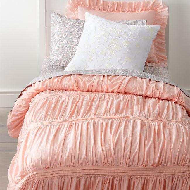 Chic Pink Full Queen Duvet Cover Pink Bedding Pink Bedroom