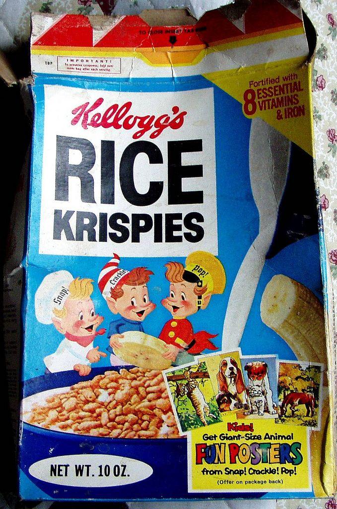 1979 Rice Krispies box | Rice krispies, Discontinued food ...