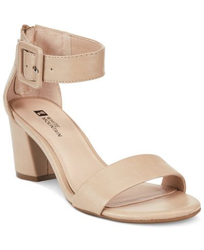 8594f474d White Mountain Elixir Dress Sandals, A Macy's Exclusive Style ...