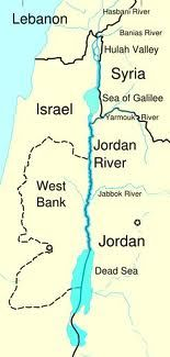 Jordan river geography bodies of water pinterest rivers the jordan river runs along the jordan rift valley from mount hermon through the hulah valley and the sea of galilee to the dead sea the lowest point on gumiabroncs Gallery