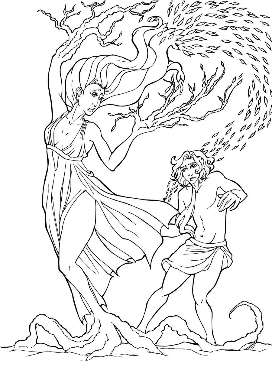 Apollo And Daphne By Panchan14 Deviantart Com On Deviantart With