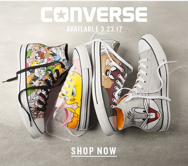 ab06586e0688 COMING SOON! Converse x Looney Tunes