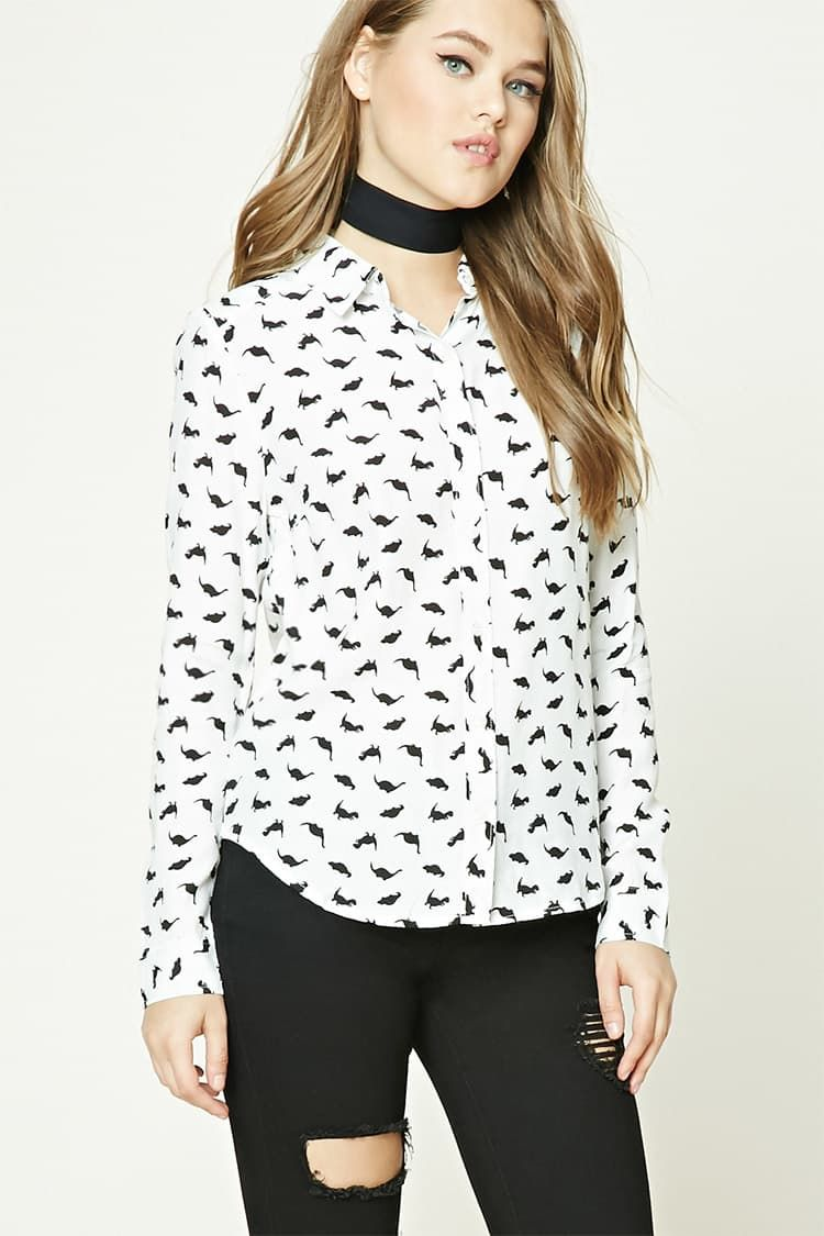 collared shirt forever 21