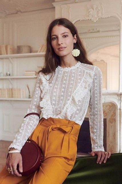 15 Edgy Boho Spitzenbluse Outfits