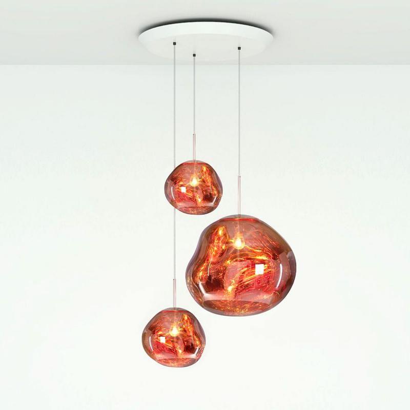 Tom Dixon Melt Trio Round Pendelleuchte ペンダントライト 吊灯 照明