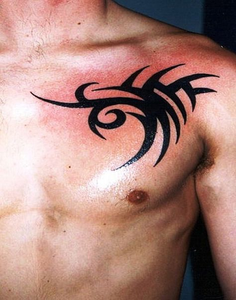 Tribal Chest Tattoos Designs Ideas And Meaning Tattoos For You Tribal Chest Tattoos Samoan Tattoo Chest Tattoo