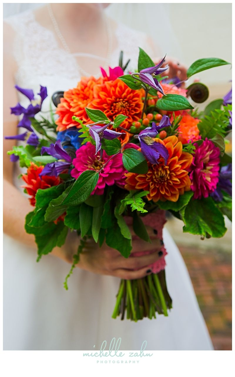 Bridal Bouquet by En Masse Flowers in Frederick, Maryland
