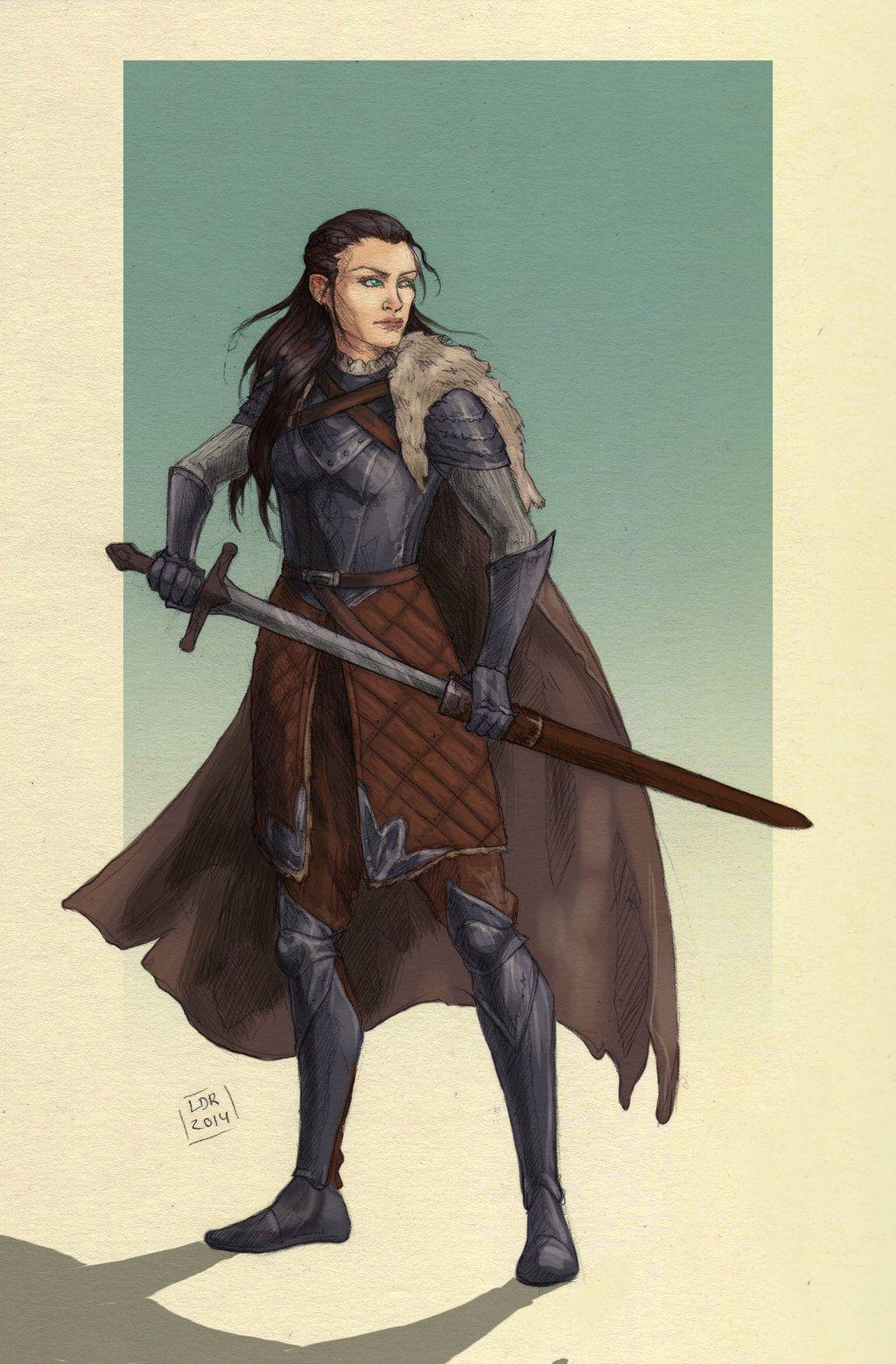 Commission Arysthial Stark By Liberlibelula Deviantart Com On