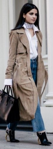 wearing, gestuz, coat, brooks, brothers, shirt, madewell, jeans
