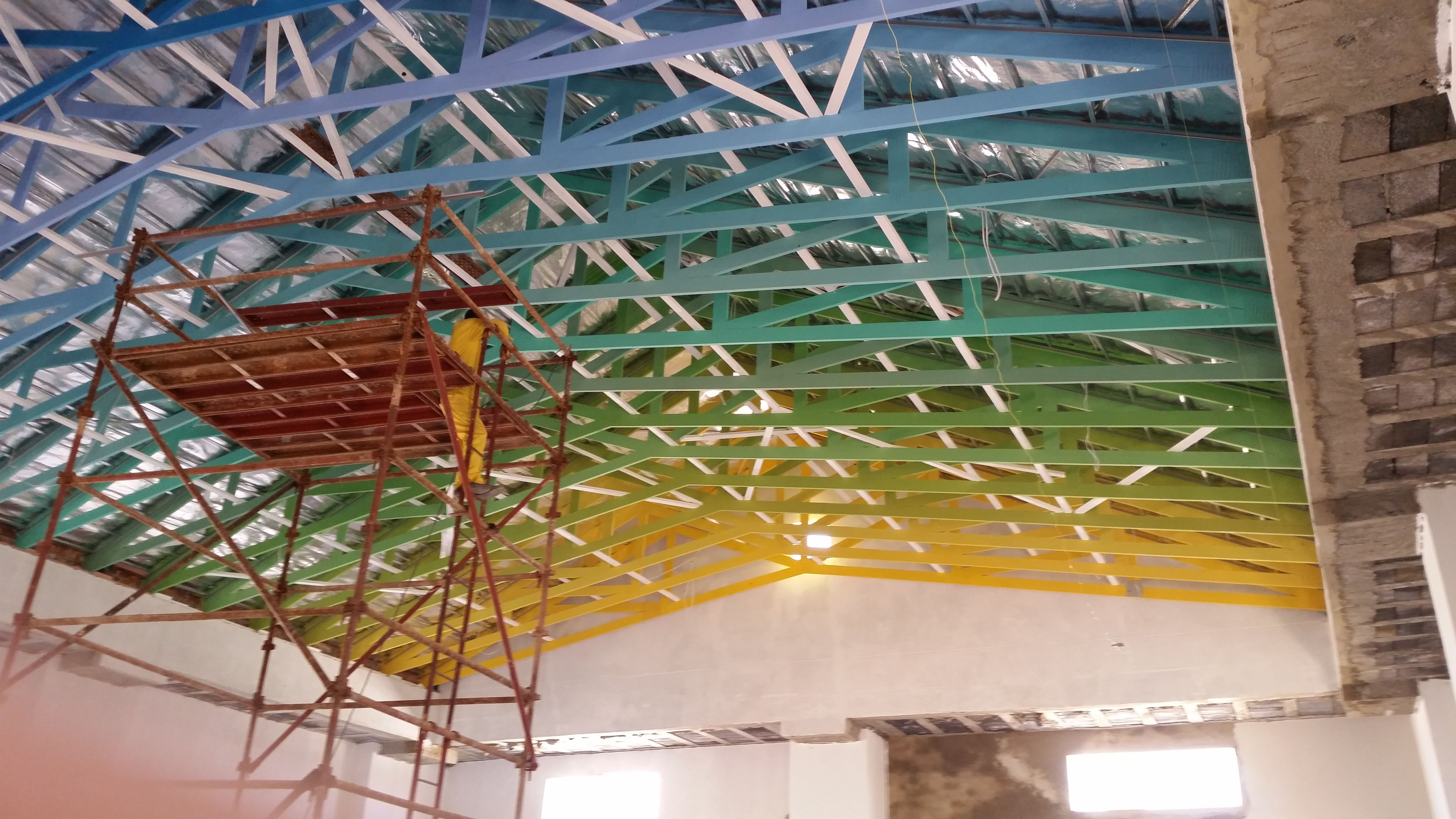 Pin By Technistrut Pty Ltd On Rainbow Roof Trusses Roof Trusses Roof Design Roofing Services
