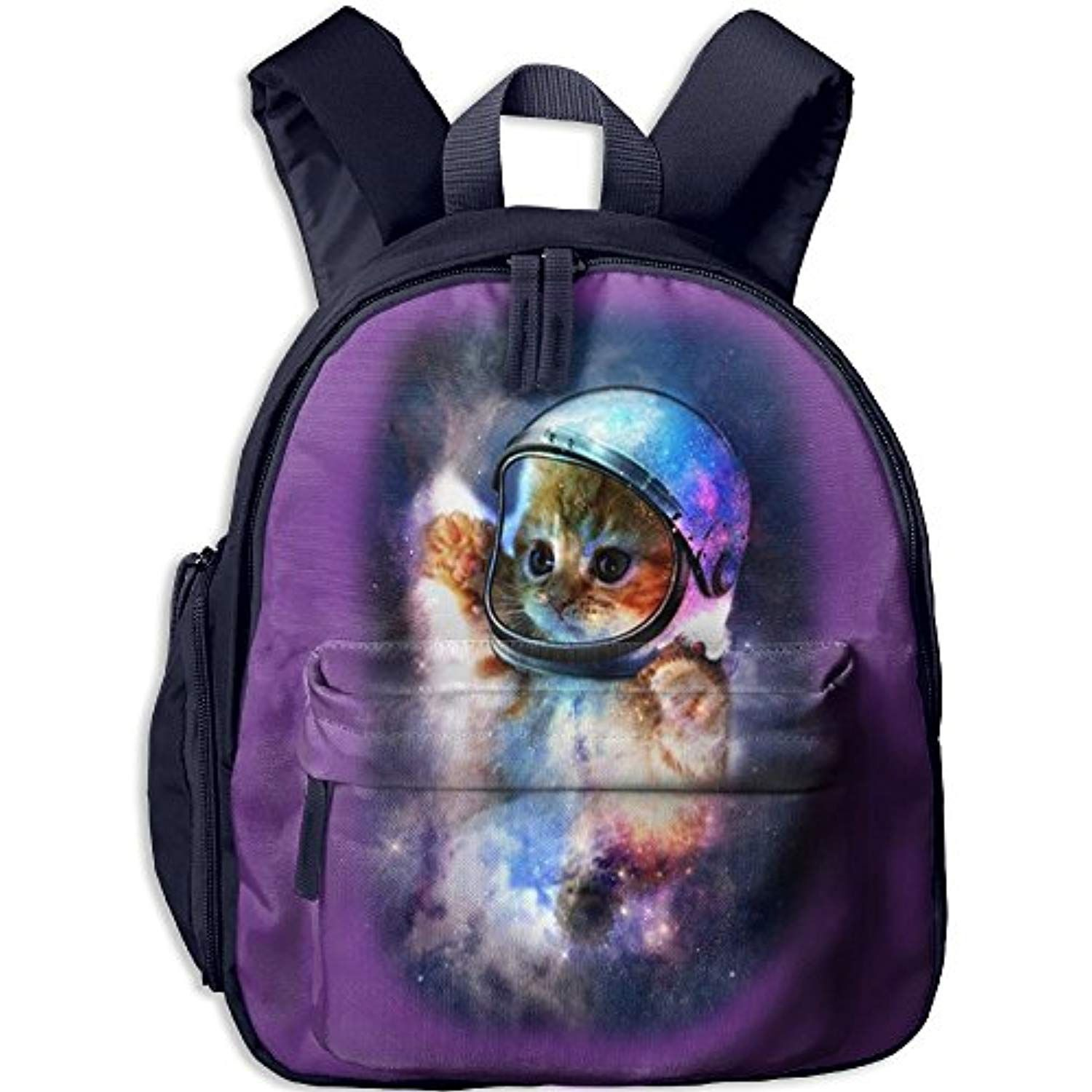 Kid Rucksack Student Book Space Kitten Backpak School Bookbag Daypack Girls  Boys Navy     You can find more details by visiting the image link. 7ffd552682024