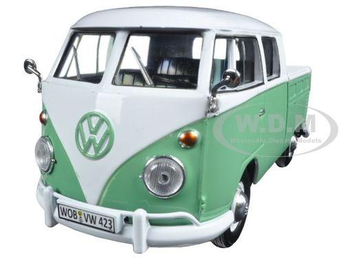 New Green T1 Motormax 1//24 Volkswagen Type 2 Delivery//Pickup