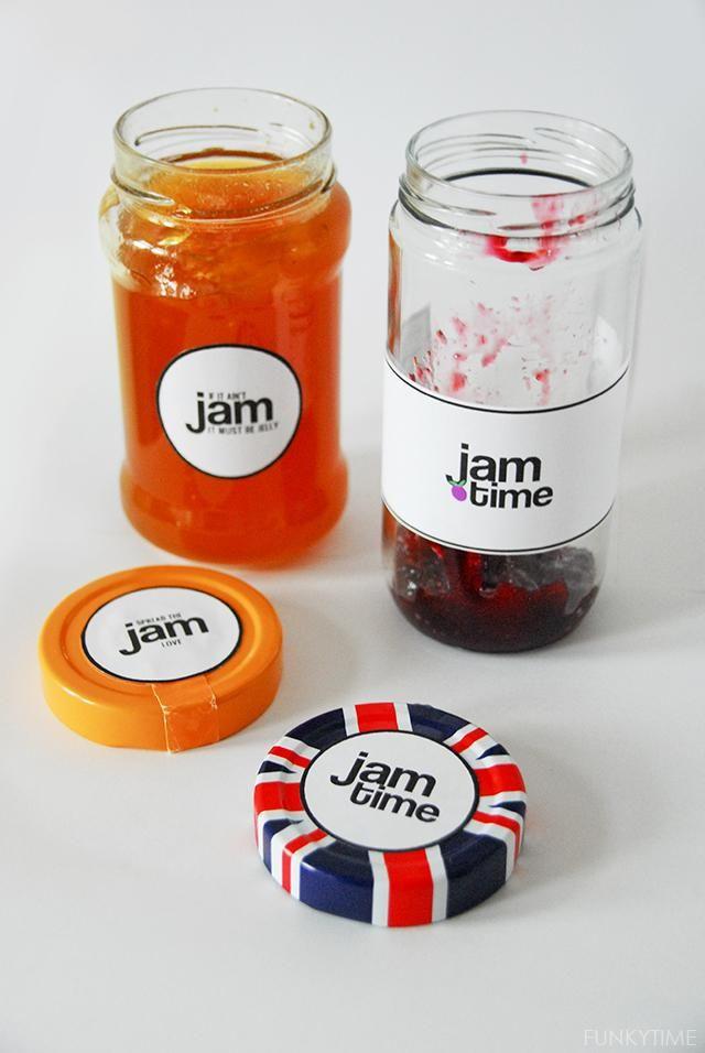 Jam Label Canning Jar Labels