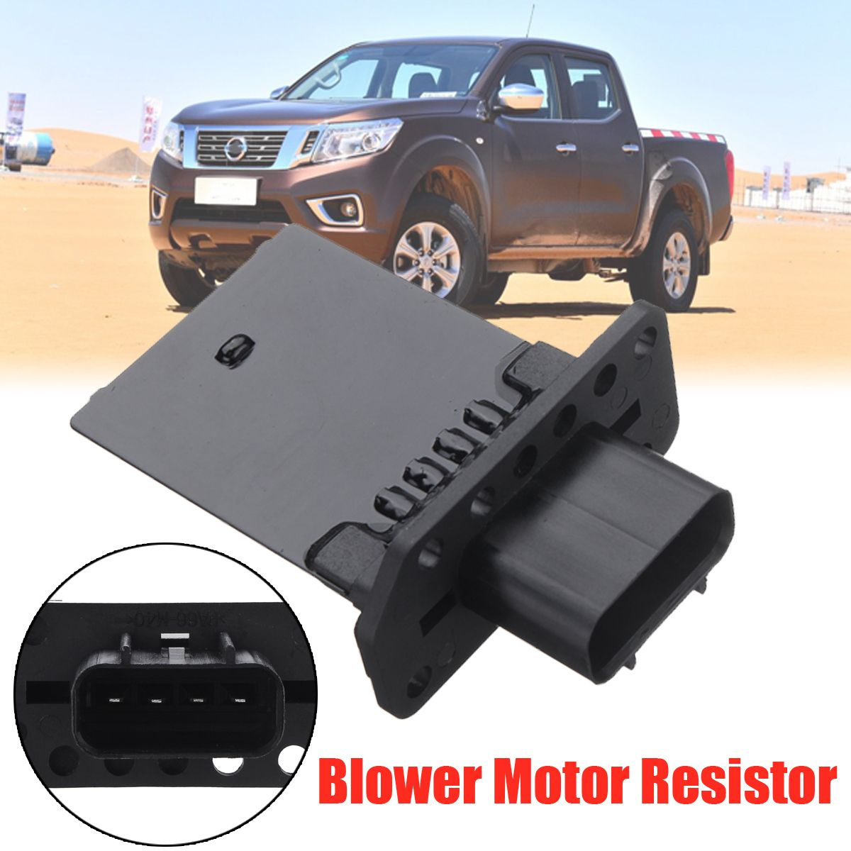 car blower motor heater fan resistor for nissan navara d40 pathfinder r51 05 13 sale shoppingdiscounts [ 1200 x 1200 Pixel ]