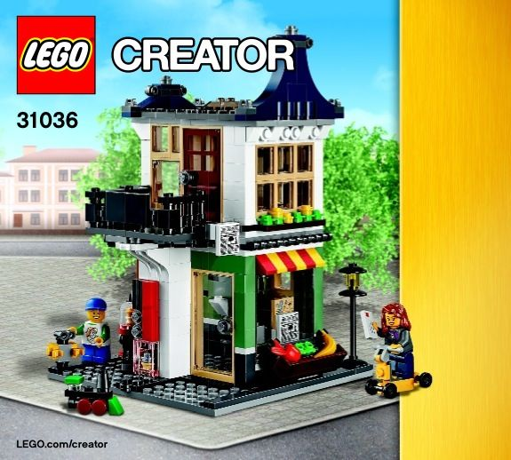 Creator Toy And Grocery Shop Lego 31036 00 Lego Box Or Cover