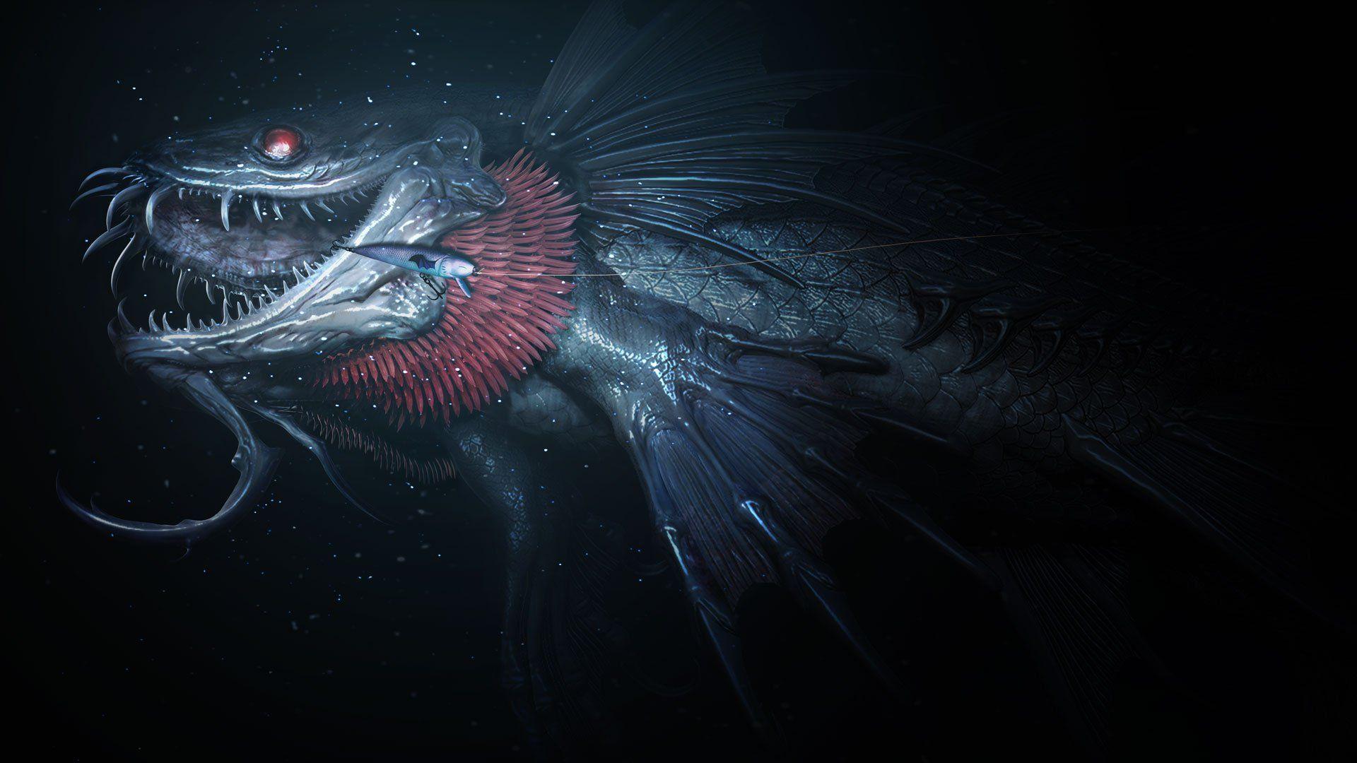 Monsters Of The Deep Final Fantasy Xv Final Fantasy Xv Monster Final Fantasy Monster of deep final fantasy xv