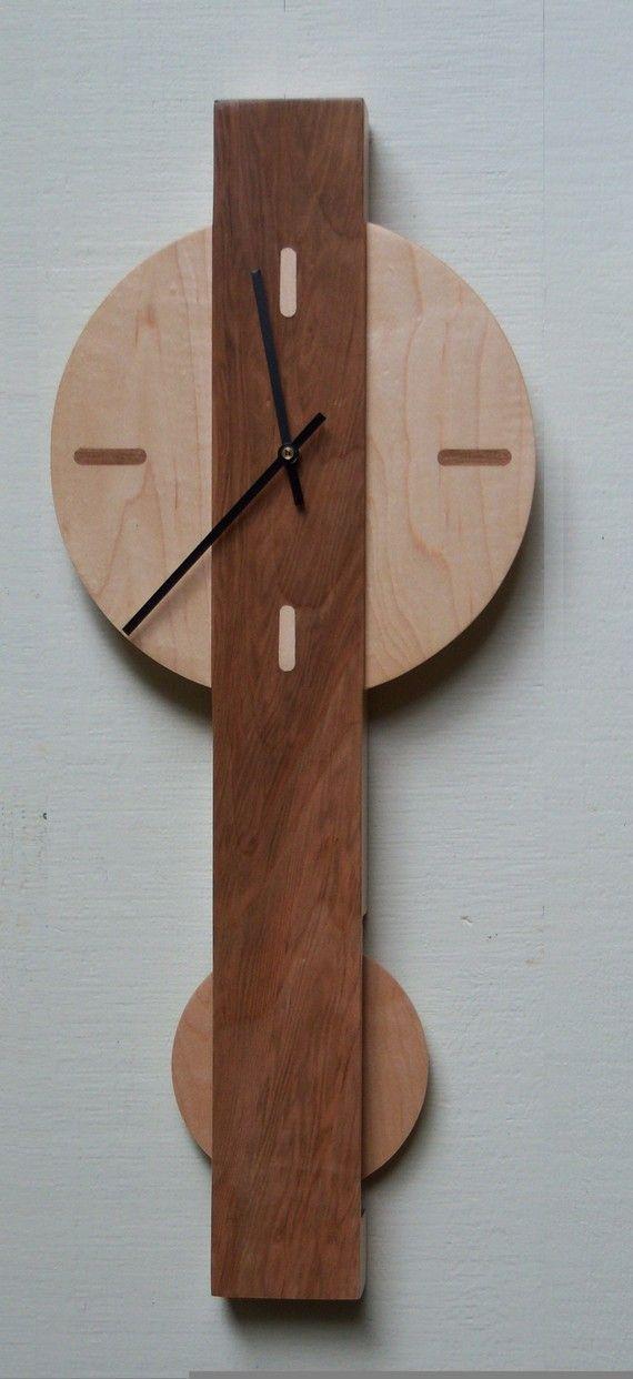 Modern Box Clock, $95
