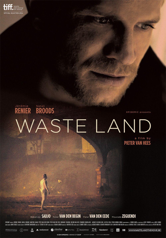 Poster for WASTELAND (Pieter Van Hees, Belgium, 2014) #TIFF14