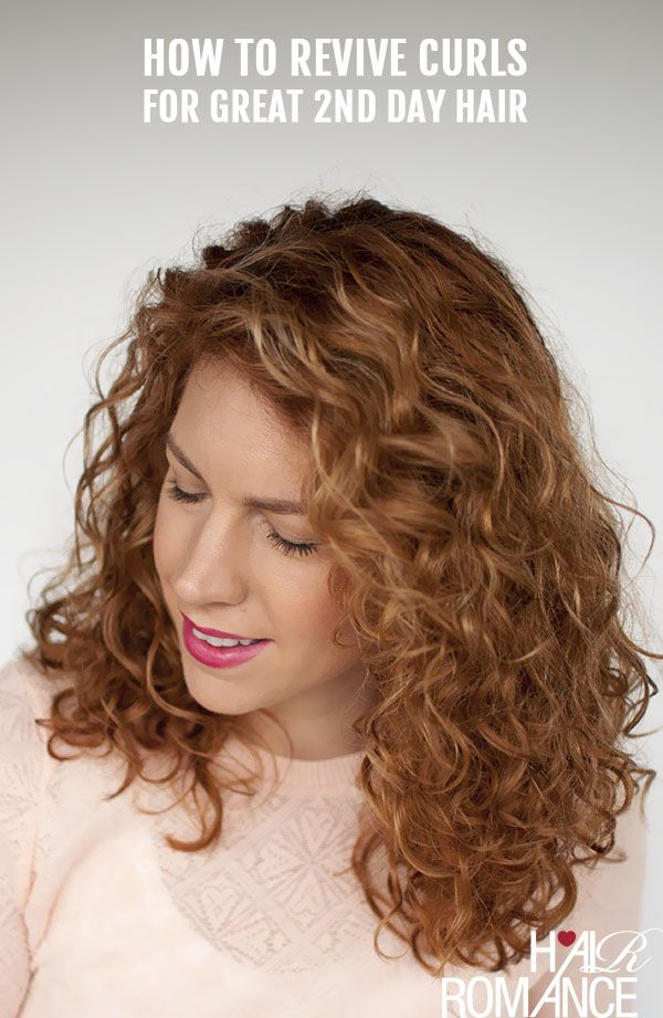 Reader Question How Do I Revive My 2nd Day Curls Back To Life Hair Romance Hair Romance Curly Hair Styles Second Day Hairstyles
