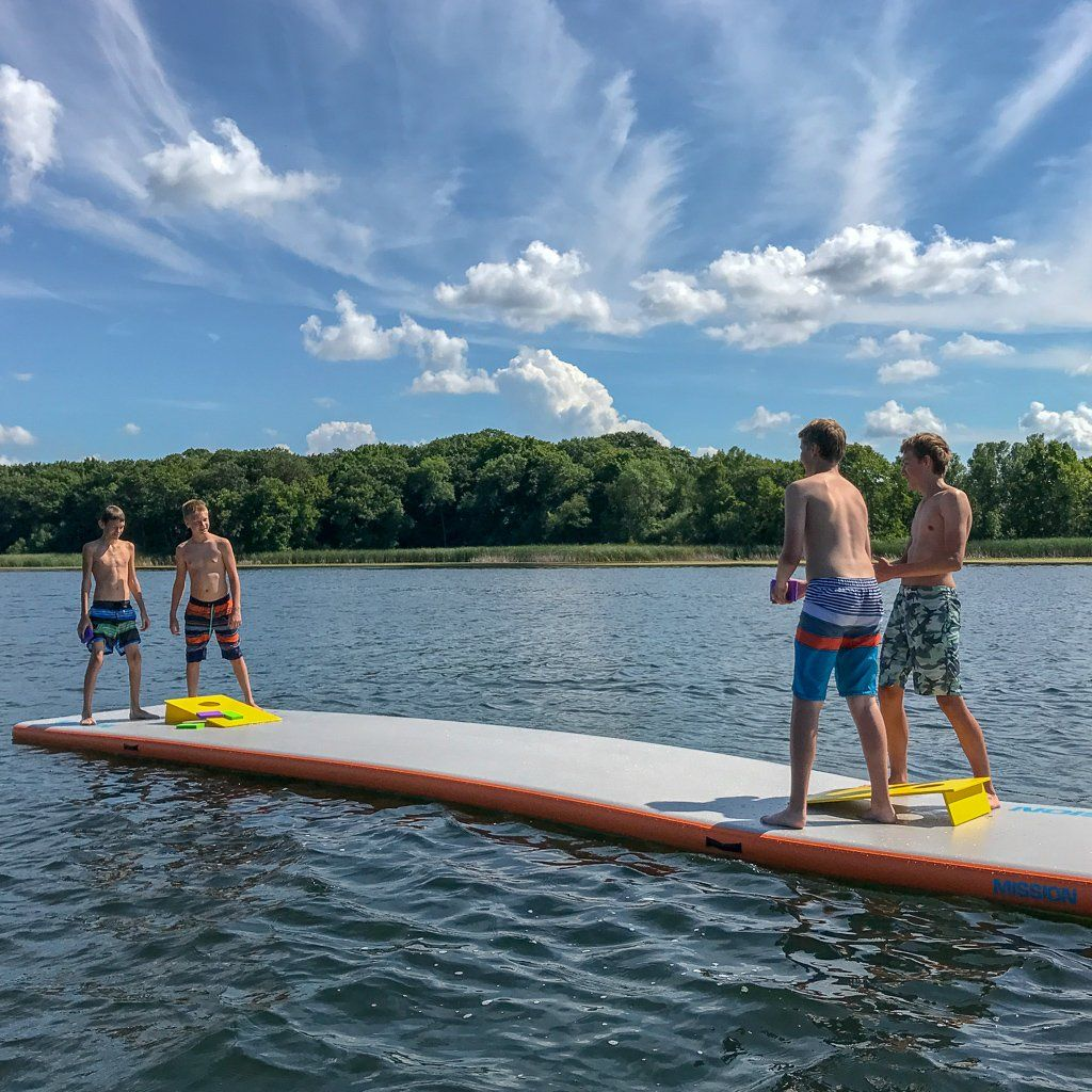 Reef Inflatable Water Mats In 2020 Water Mat Lake Floats Beach Trip