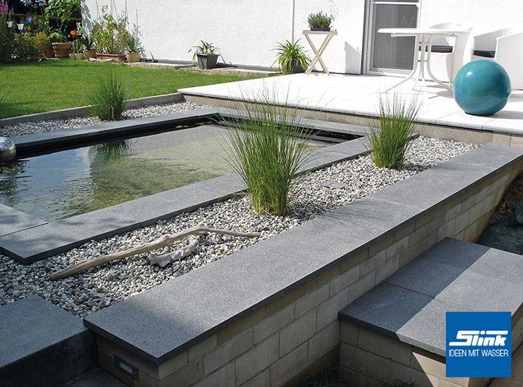 gfk wasserbecken fertigteich rechteckig 140 x 100 x 80 cm 850 liter gartenteich. Black Bedroom Furniture Sets. Home Design Ideas
