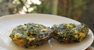 low carb spinach muffins