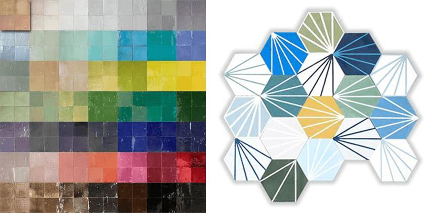 Achat carrelage carreauxmosaic mosaic del sur zellige for Carrelage achat