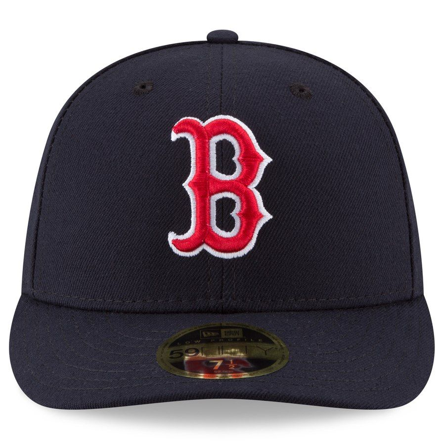 5003ea3b9cf6f Men s Boston Red Sox New Era Navy 2018 World Series Champions Sidepatch Low  Profile 59FIFTY Fitted