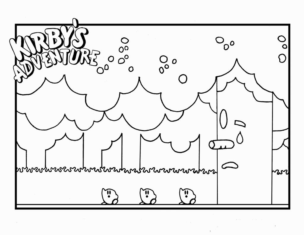 Kirby Coloring Sheets | Coloring Pages | Pinterest