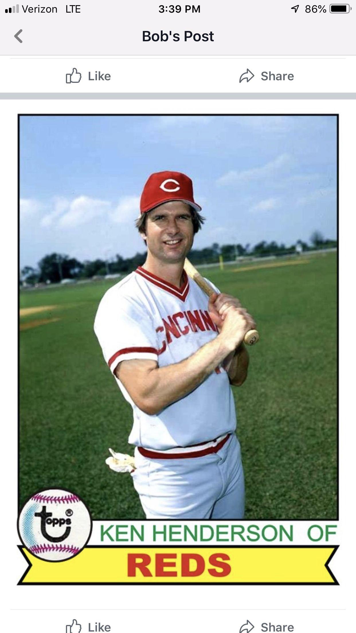 Pin by Glenn Randall on Baseball Cards Cincinnati reds