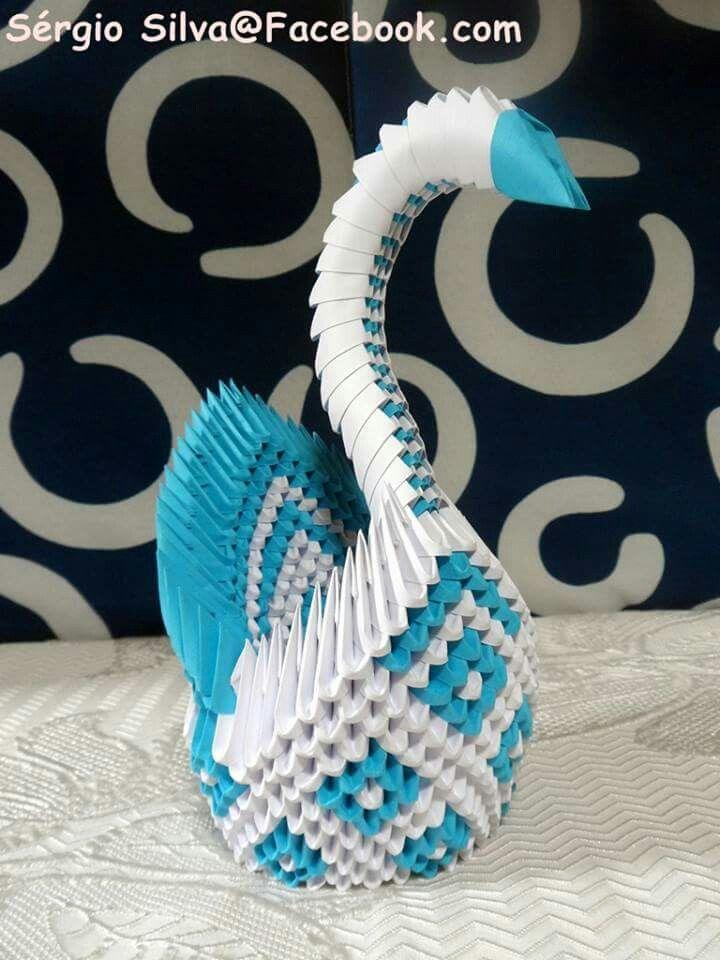 Origami 3D Cisne