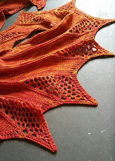 Feuerteufel pattern by Ute Nawratil
