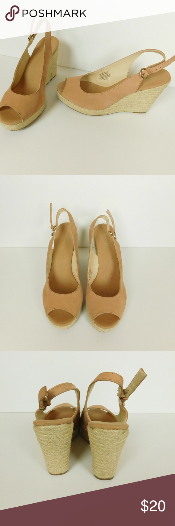 63d2ab6ba66 Nine West Wedges 10 High Heel Forever Young Pre-Owned Woman Wedge High Heel  Shoes