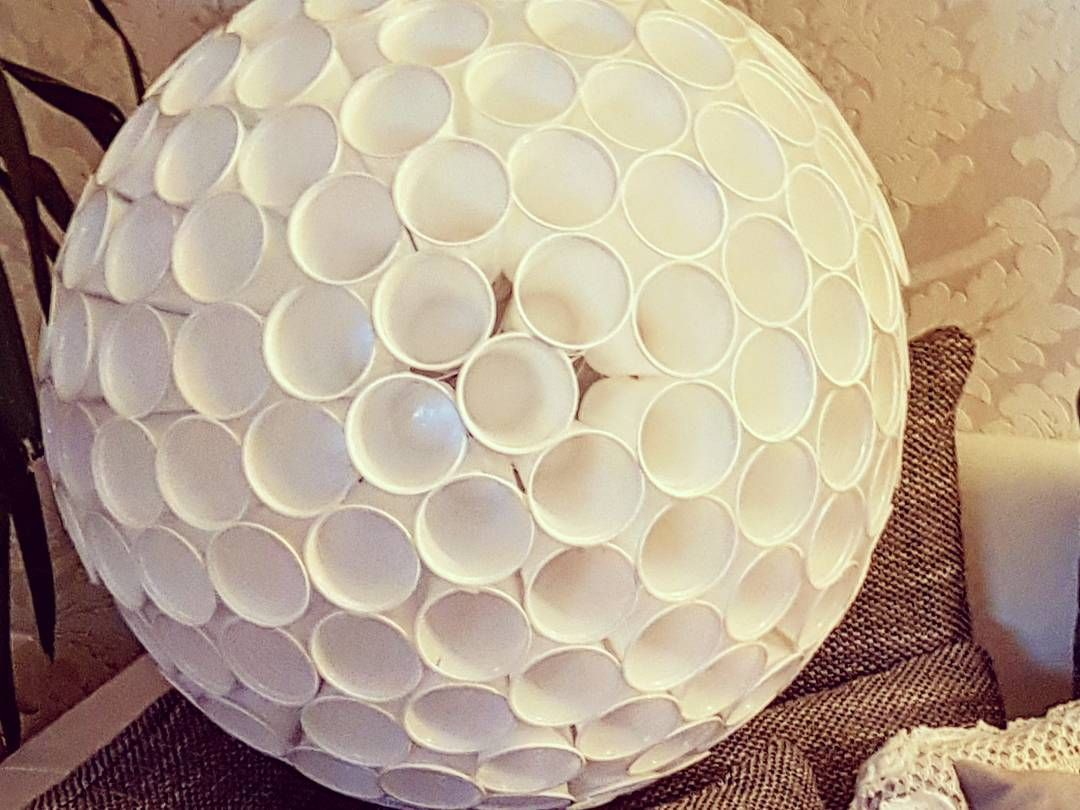 Lampe Kreativ Plastikbecher Lampe Kreativ G I A N T S Pinterest How To Make