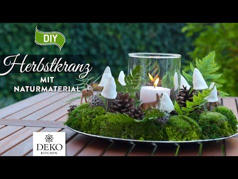 Bild von DIY: schöner Herbstkranz mit natürlichem Material [How to] Deko Ki
